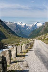 Gamle Strynefjellsvegen © Foto: Roger Ellingsen/Statens vegvesen